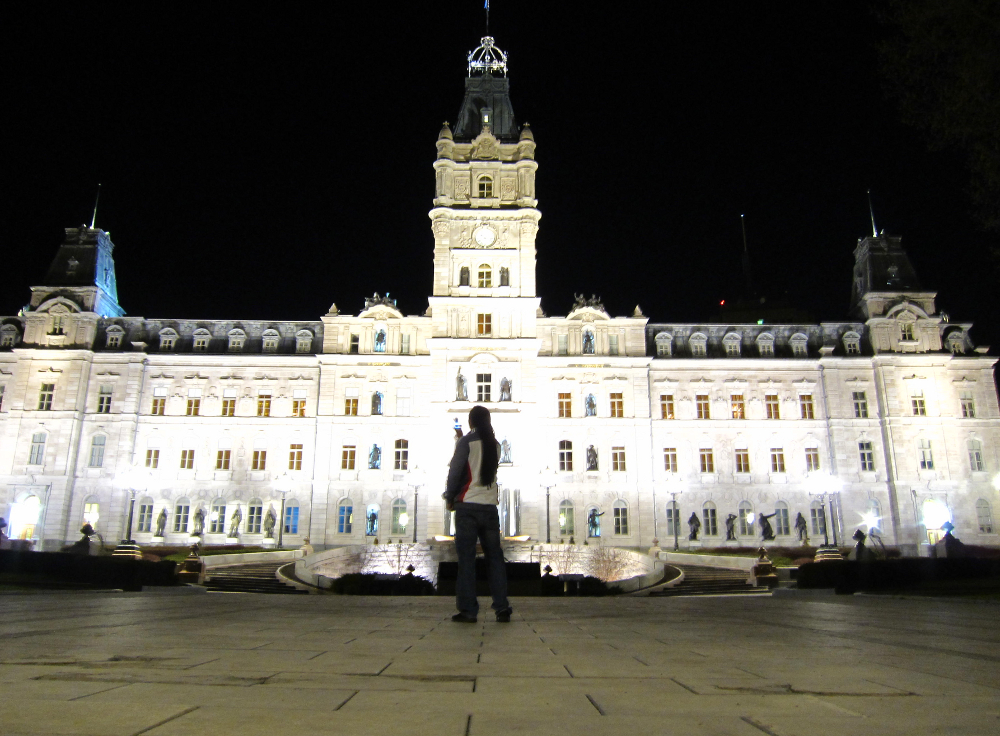 The Parlament in Quebec City